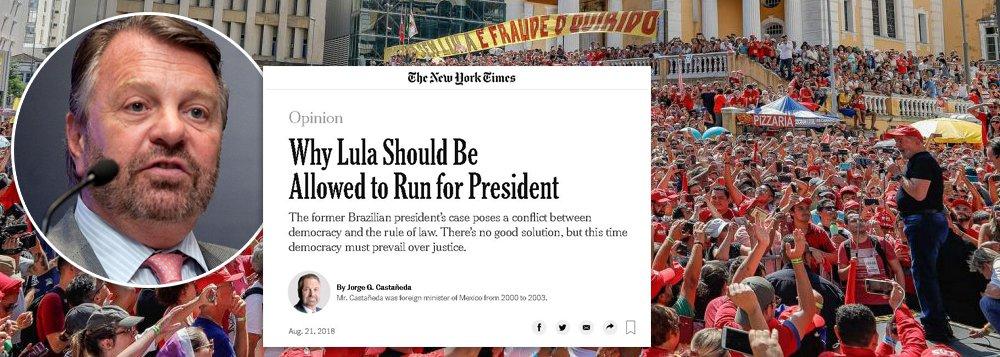 "Jorge Castañeda: ""ter Lula na cédula fortalece democracia no Brasil"""
