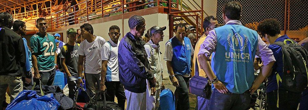 Governo anuncia a interiorização de mais 1 mil venezuelanos