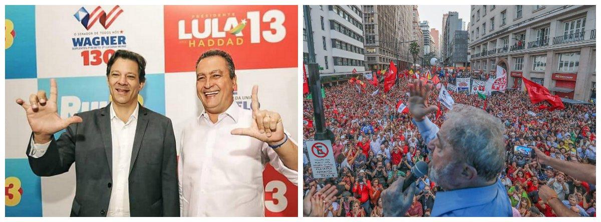 Rui: pesquisas mostram revolta da população contra perseguição a Lula
