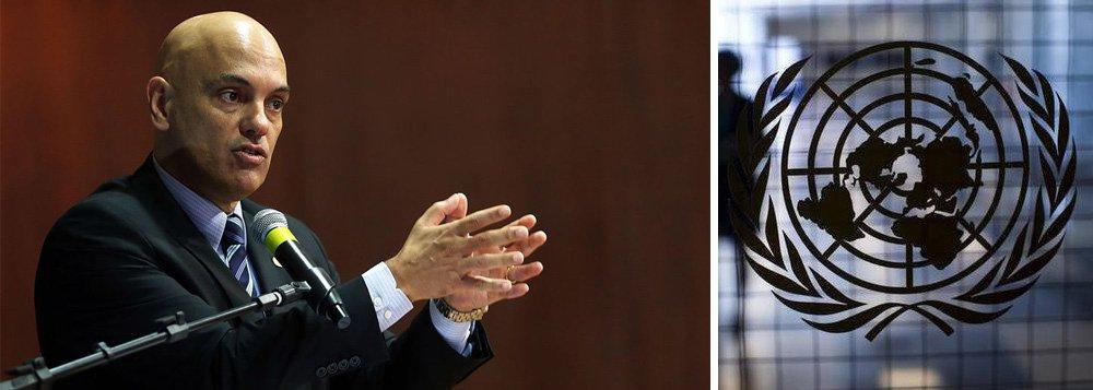Alexandre de Moraes é o primeiro ministro do STF a desafiar a ONU