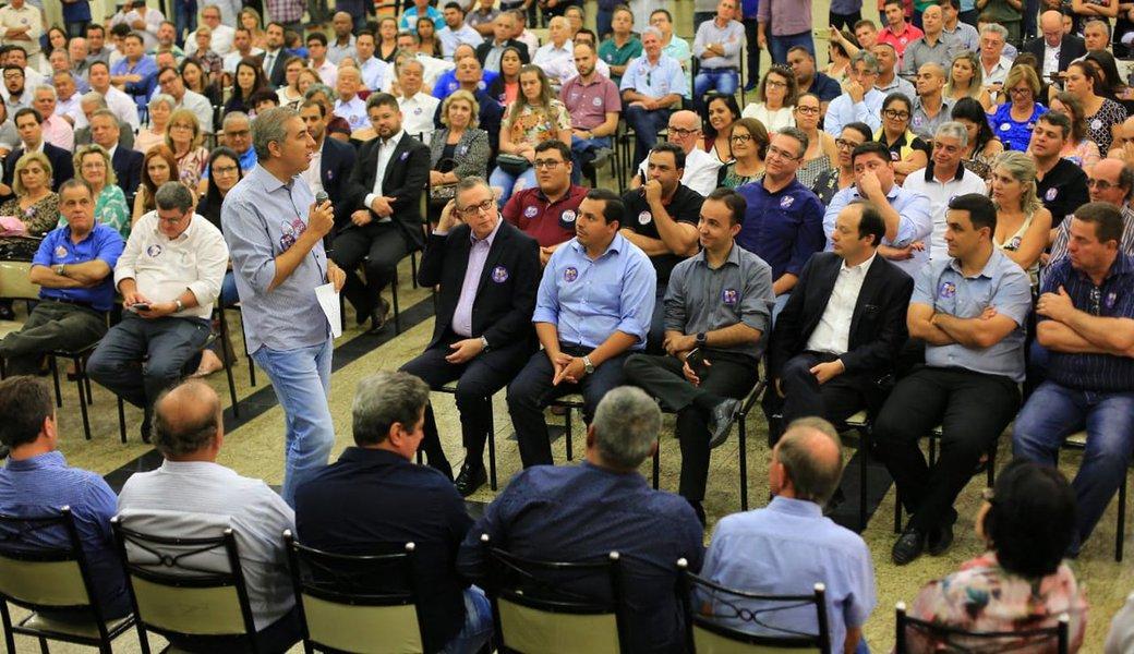 Reunião mostra que base e prefeitos do PP estão com Zé Eliton
