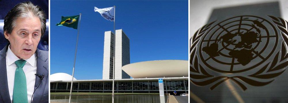 Congresso Nacional posiciona-se: Brasil assinou tratado e deve seguir ONU