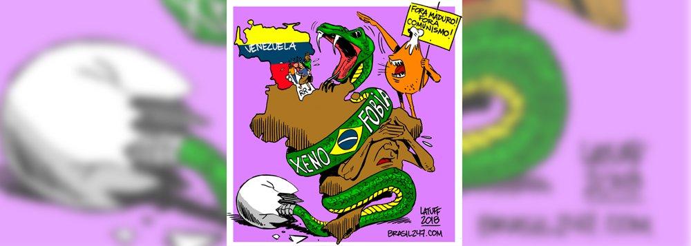 Latuff vê fascismo em xenofobia contra venezuelanos