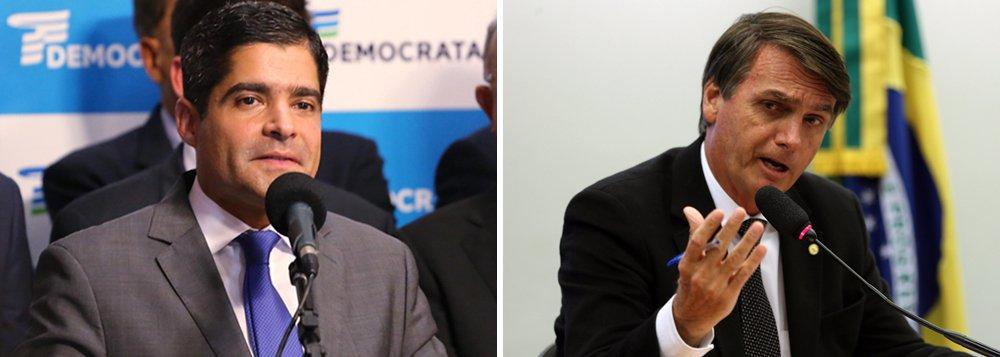 ACM Neto diz que Bolsonaro cai após começo do horário eleitoral