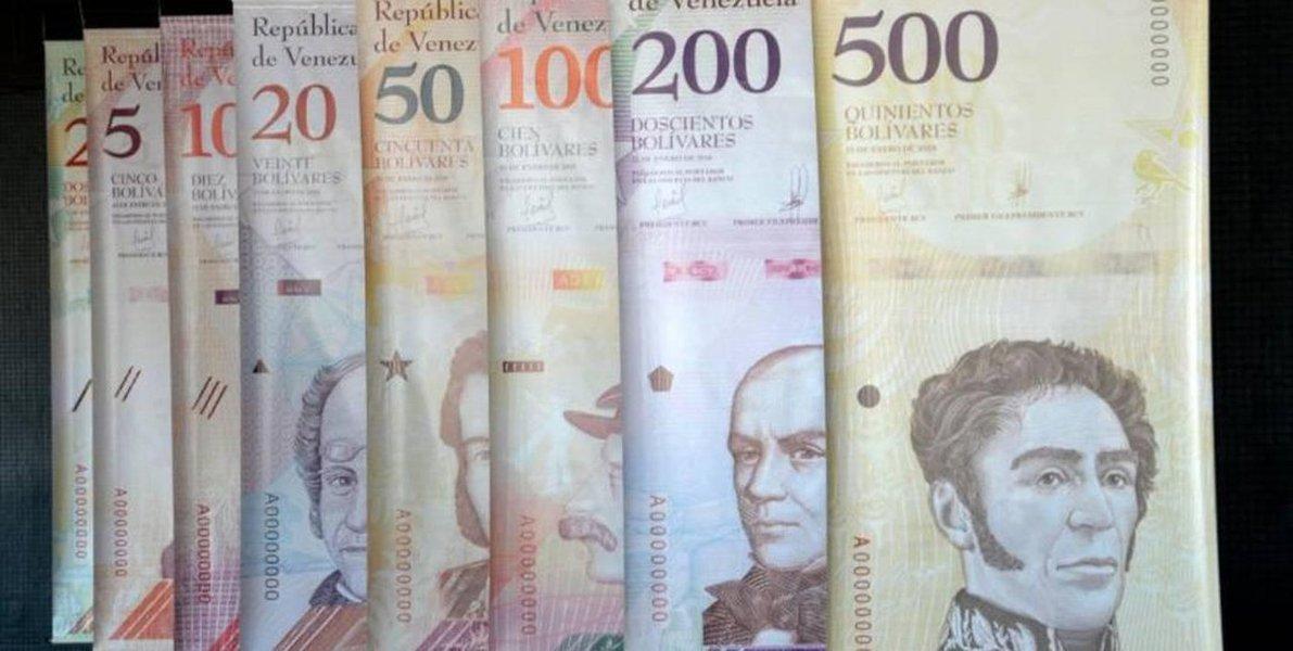 Reforma monetária entra em vigor nesta segunda-feira na Venezuela