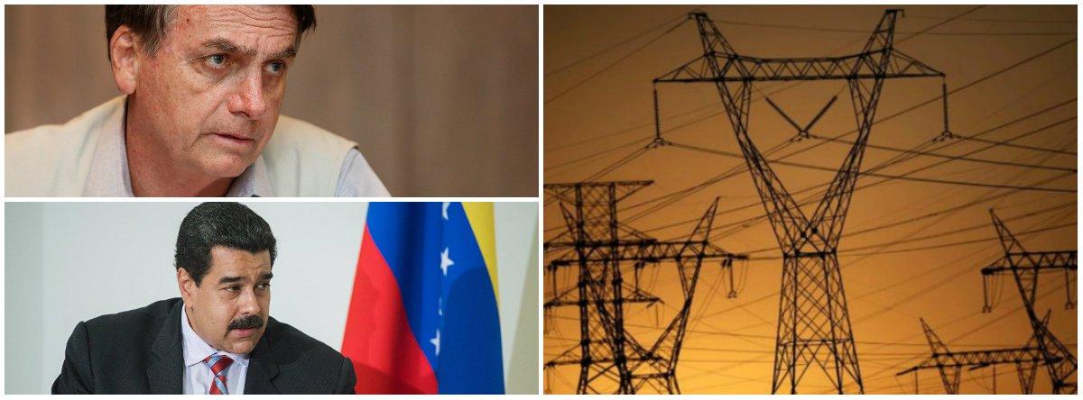 Governo Bolsonaro cede e negocia fornecimento de energia a Roraima