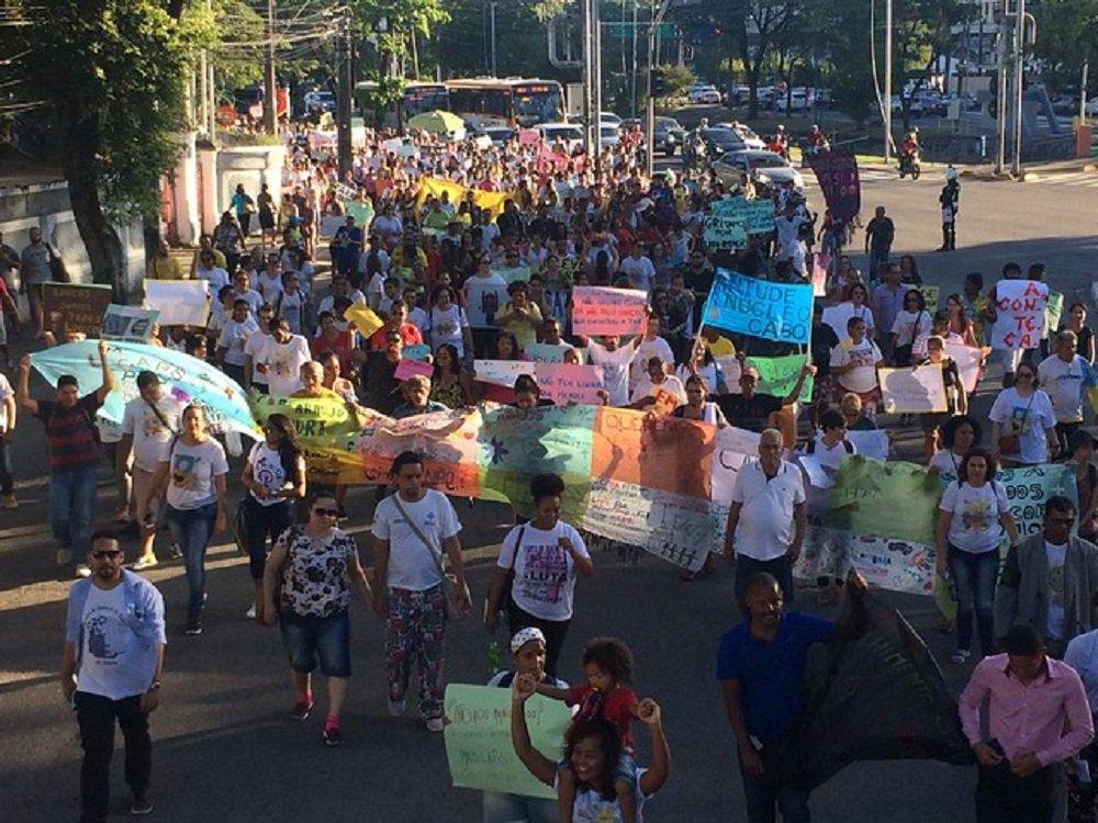 'Manicômio oprime e segrega' afirmam manifestantes em protesto no Recife