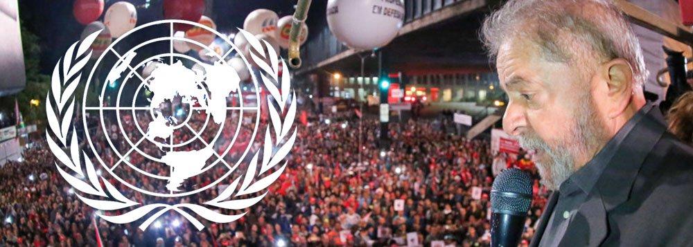 Com aval da ONU, Lula ganha no primeiro turno