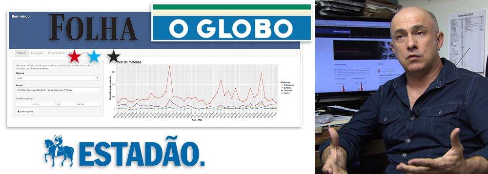 João Feres Jr: dada a largada eleitoral, a mídia reafirma sua posição