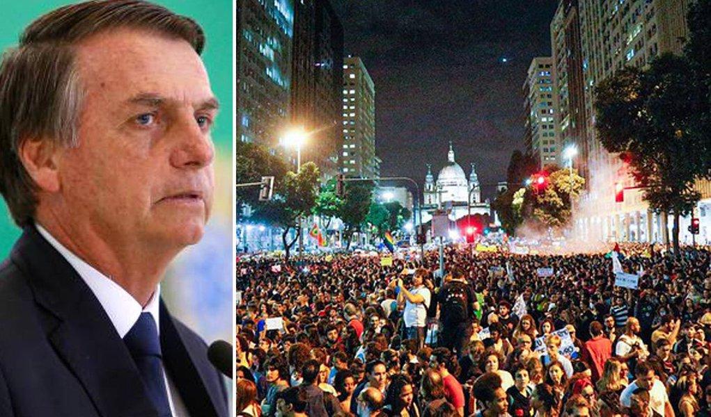 Bolsonaro e as manifestações contra os cortes
