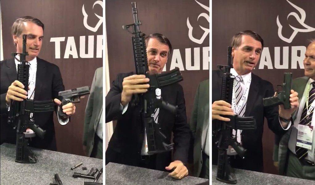 Ações da Taurus disparam após empresa anunciar 'lista de espera' por fuzis