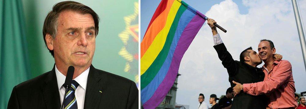 No Brasil de um presidente homofóbico com orgulho, a homofobia será crime