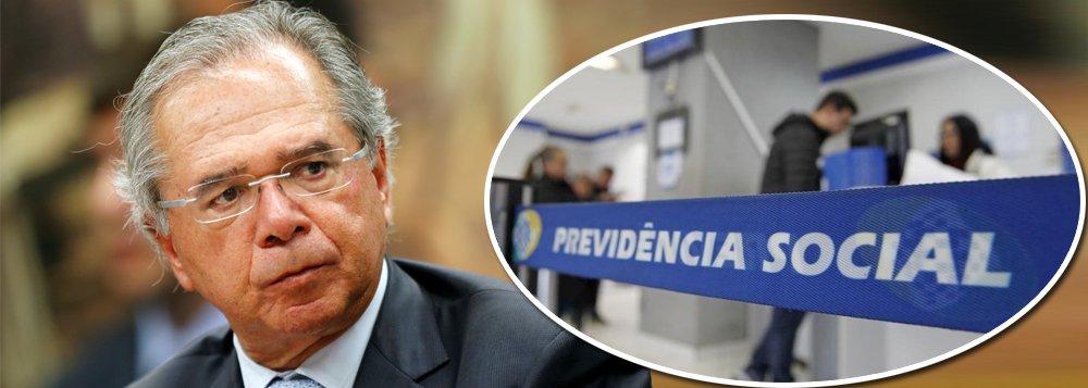 Paulo Guedes diz que se Congresso não entregar a Previdência, 'pego o avião e vou morar lá fora'