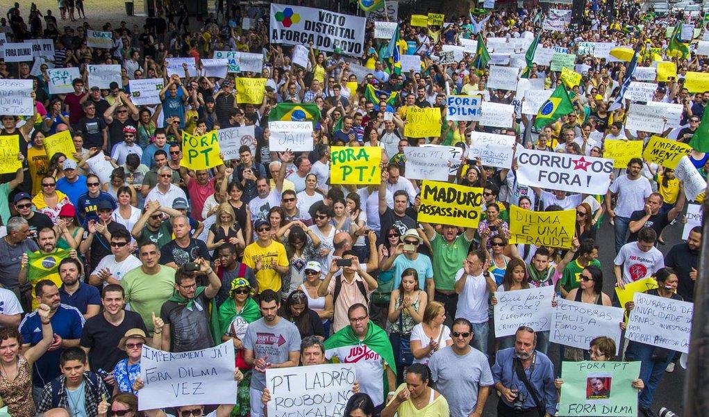 PT diz que mobilização para manifestação de domingo não deve ser subestimada
