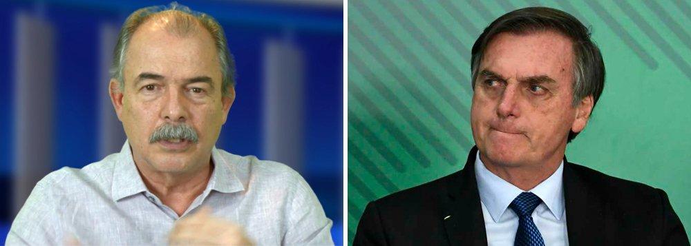 """Mercadante: """"Bolsonaro perdeu a oportunidade de recuperar a economia"""""""