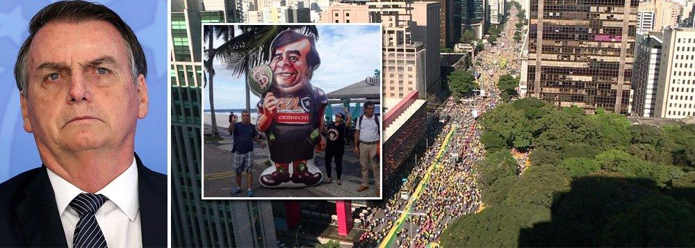Bolsonaro diz que ato pró-governo foi 'significativo e histórico'