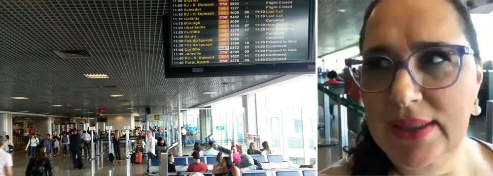 Em vídeo preconceituoso, Lilian Aragão diz que 'aeroporto está parecendo rodoviária'