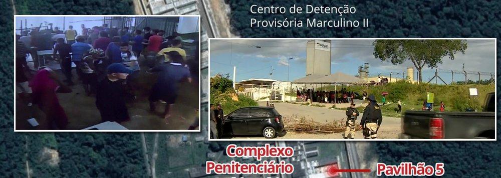 Confronto entre detentos já deixou 57 mortos desde domingo em Manaus