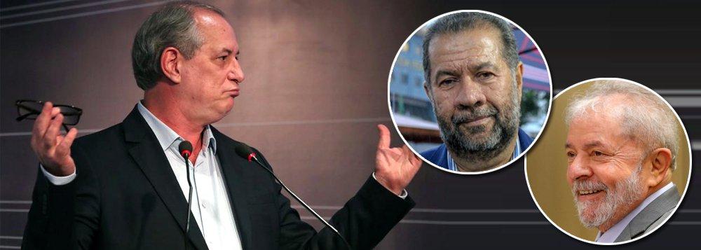 Ciro decreta seu fim político ao dizer que não visitará Lula