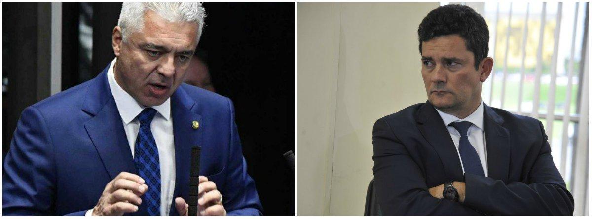 Major Olímpio sobre Moro: 'Não dá para defender quem não quer ser defendido'