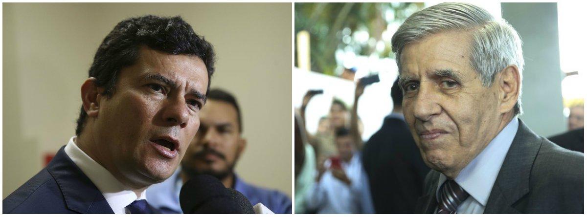 """Motim em Manaus, Moro em Portugal e general Heleno vê """"Brasil à beira do abismo"""""""