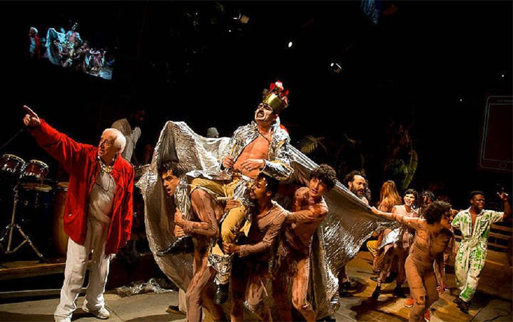 Ato no Teatro Oficina prepara a chegada do Festival Lula Livre