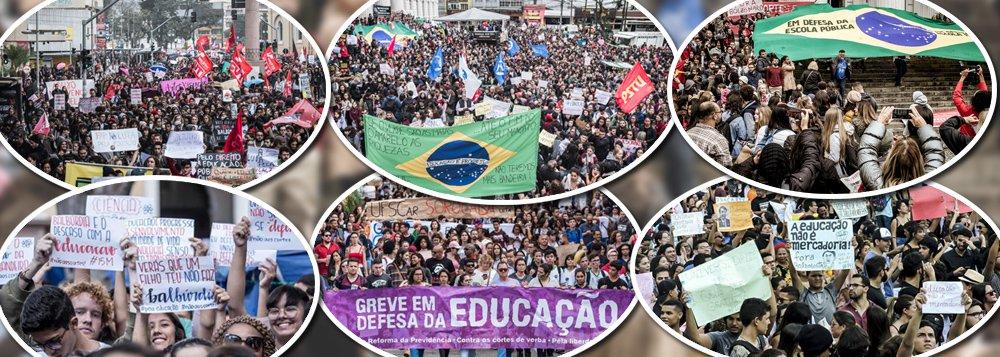 Atos pela educação já estão confirmados em mais de 150 cidades