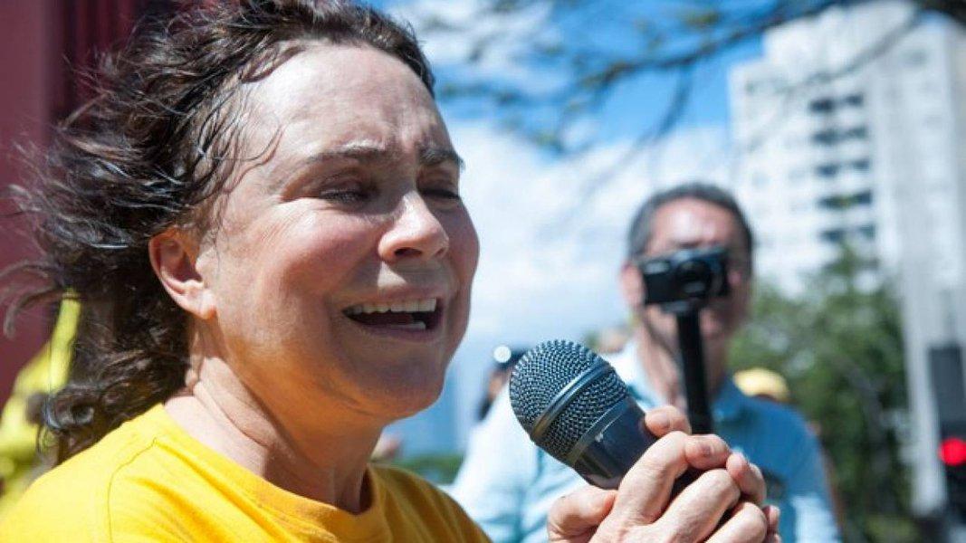 Regina Duarte: 'sou chamada de fascista'