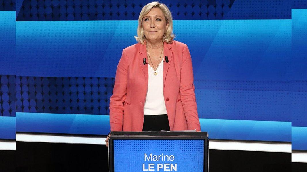Eleições europeias: extrema direita lidera com 23% na França