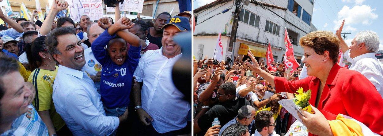 Ibope e Datafolha: Aécio tem 46% e Dilma 44%