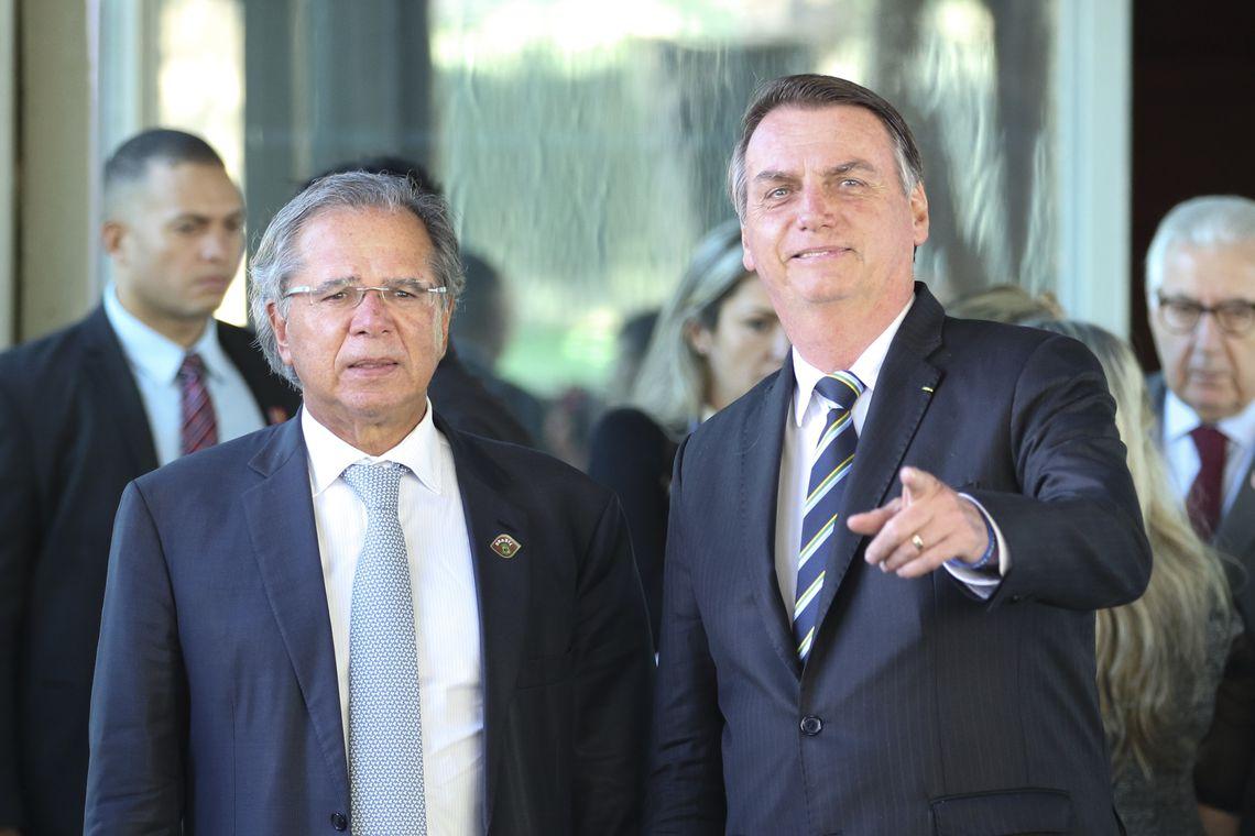 Na vida real, menos Guedes e mais Bolsonaro