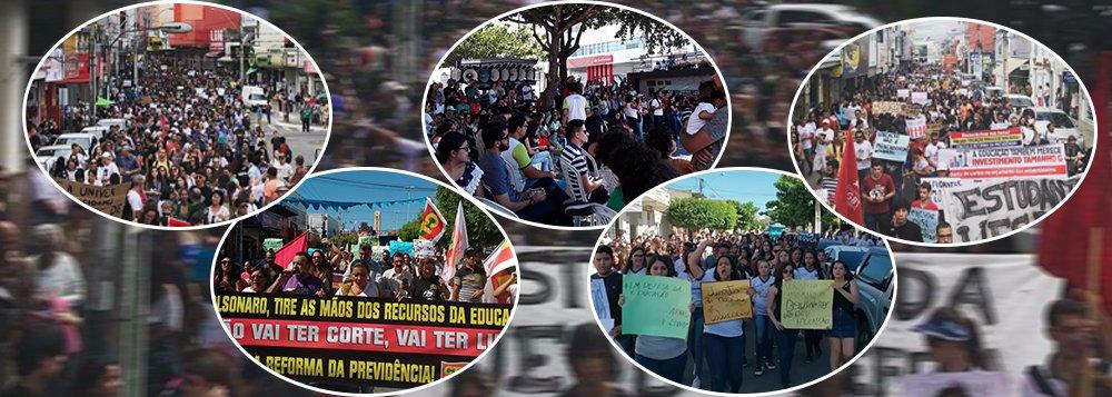 30M: estudantes já estão nas ruas contra cortes na educação