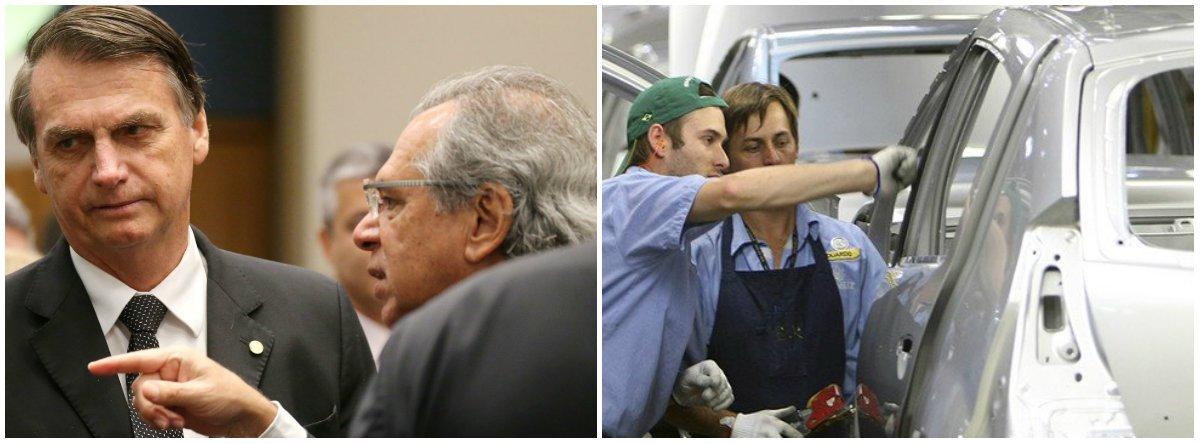 Brasil entra oficialmente em recessão com fiasco de Guedes e Bolsonaro
