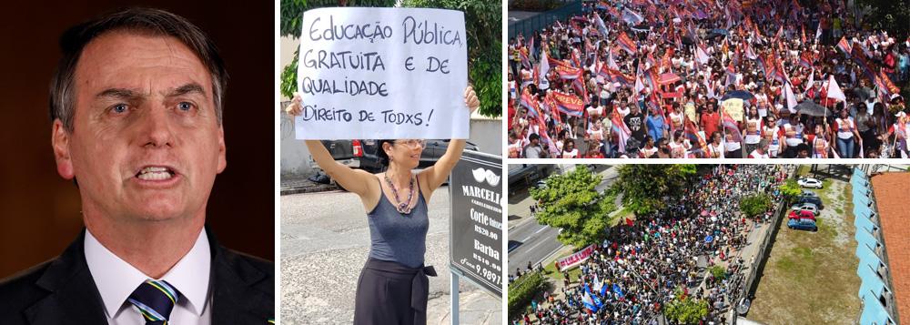 Brasil volta às ruas nesta quinta contra o desmonte da educação