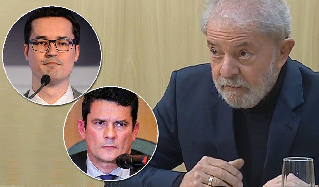 Lula: Dallagnol e Moro trabalharam para os Estados Unidos