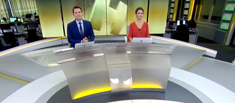 Globo faz reunião de emergência após crise de audiência no Jornal Hoje