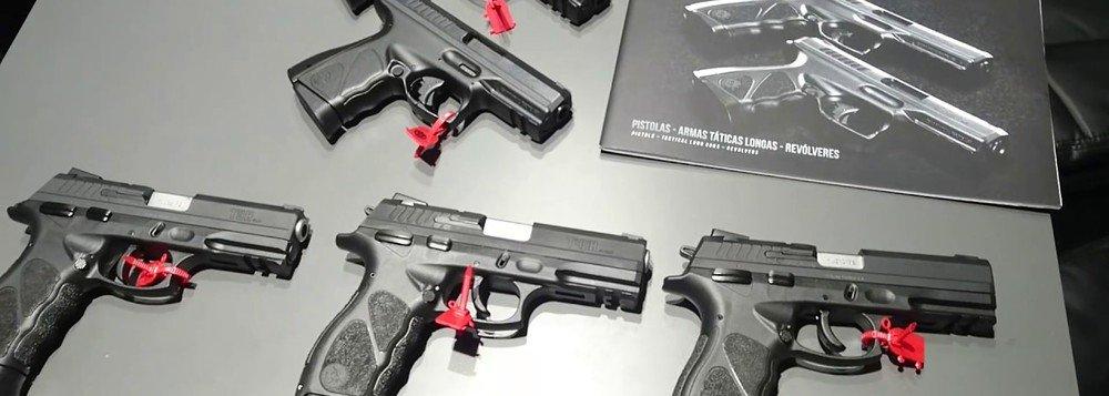 CCJ do Senado pode votar nesta quarta suspensão do decreto das armas