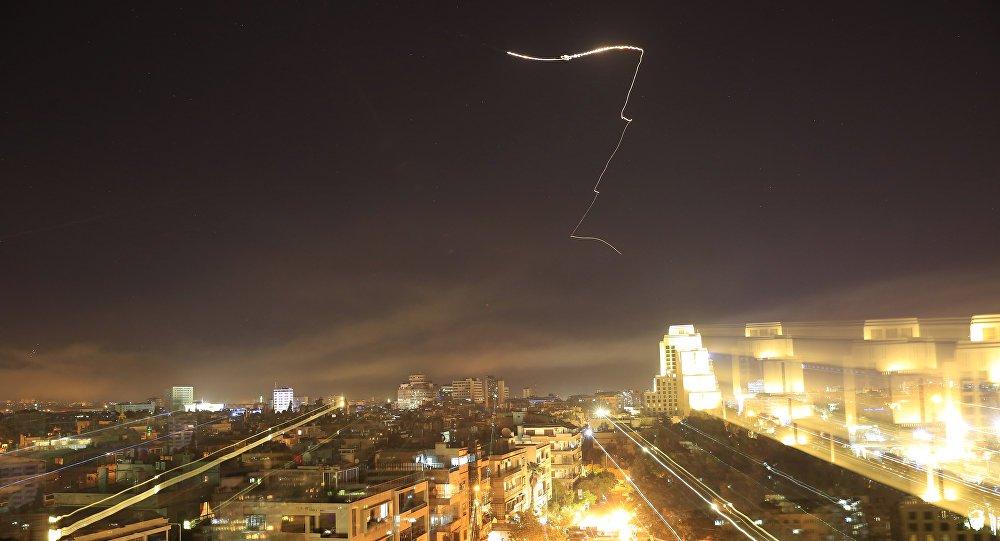 Síria repele ataque de mísseis de Israel