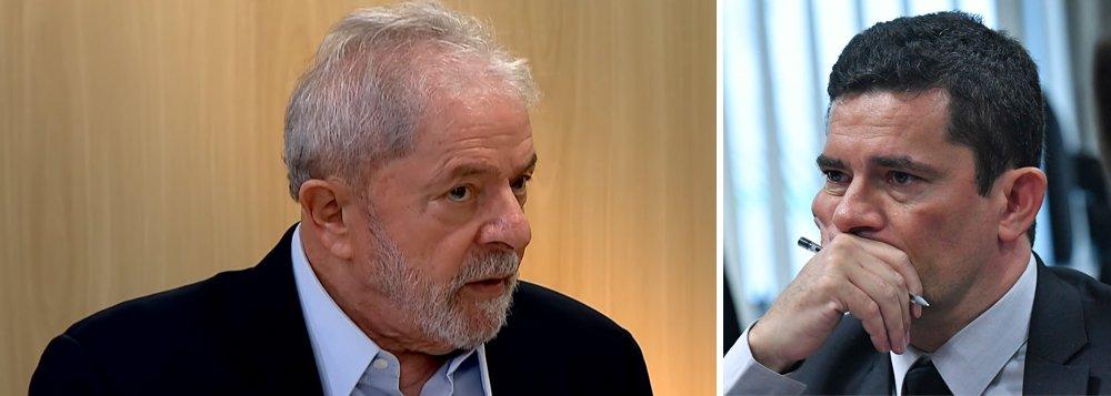 Defesa de Lula leva Vaza Jato ao STF para confirmar suspeição de Moro