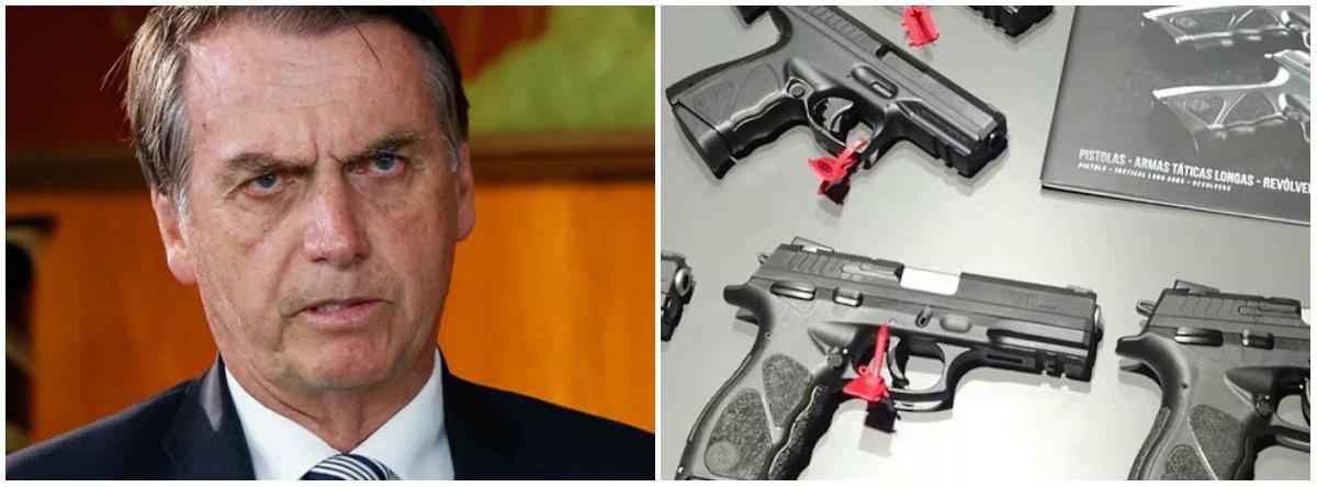 Bolsonaro minimiza votação que pode derrubar decreto de armas: 'Derrota não é minha'