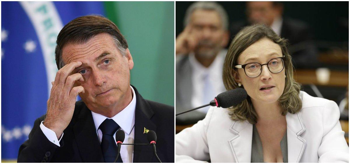 Justiça determina e Bolsonaro publica pedido de desculpas a Maria do Rosário