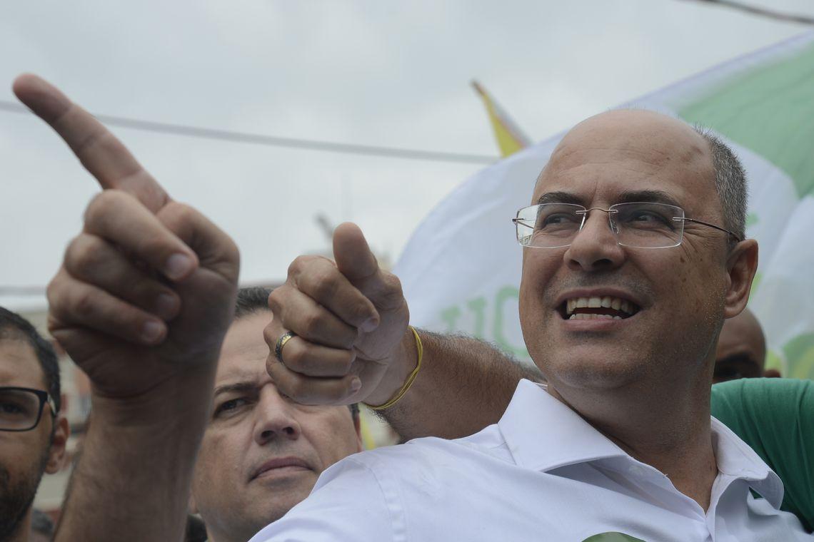 Governador do Rio de Janeiro Wilson Witzel PSC