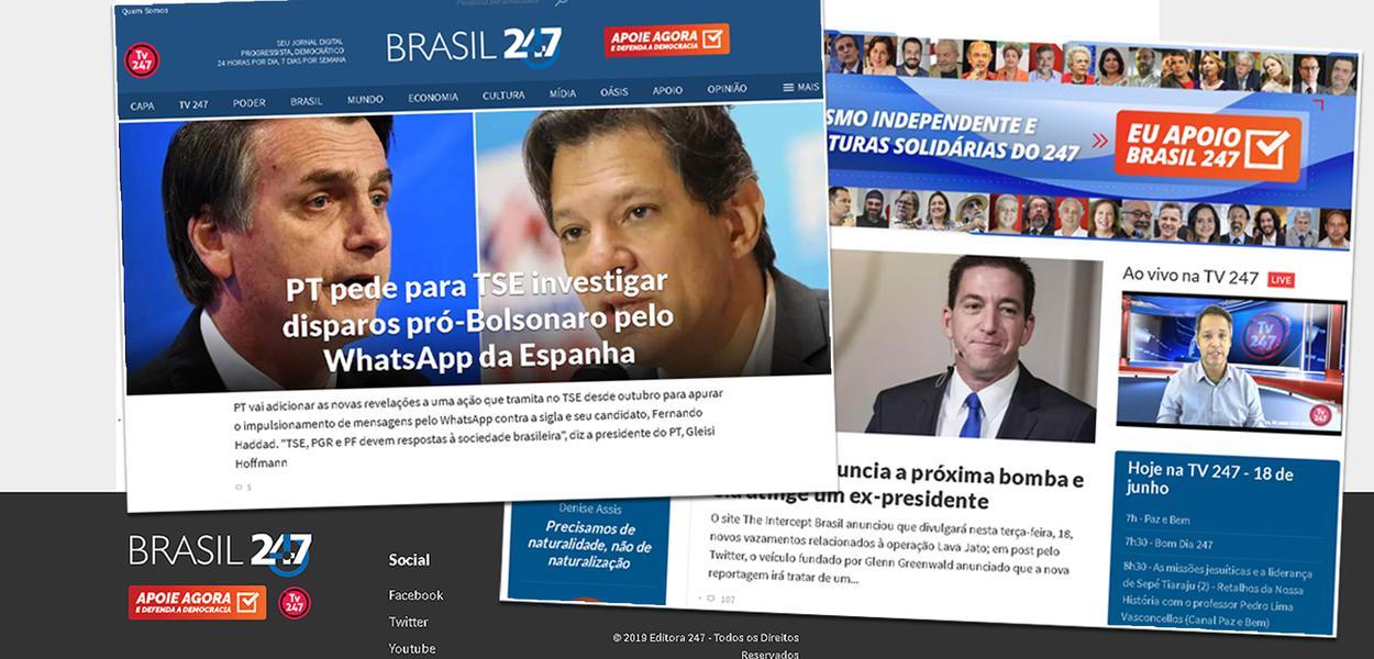 Brasil 247 tem novo projeto visual
