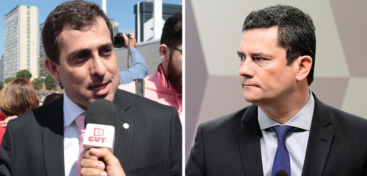 Parlamentares protocolam pedido de exoneração de Moro