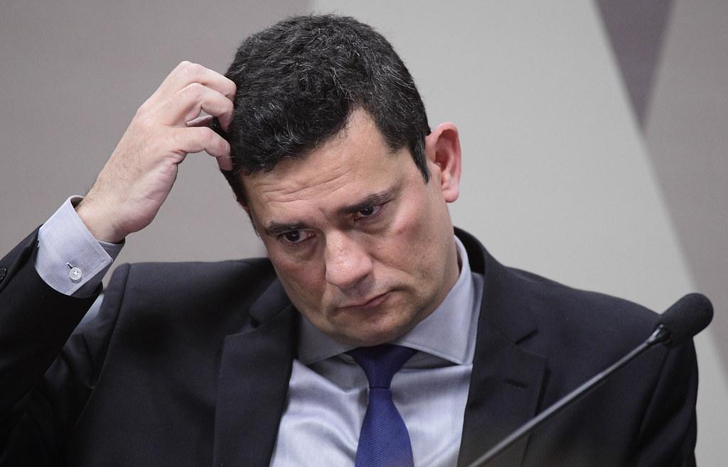 Sérgio Moro presta depoimento à CCJ do Senado