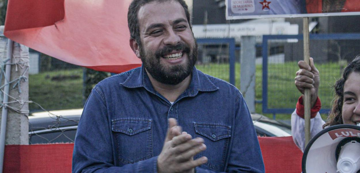 Guilherme Boulos visita Lula