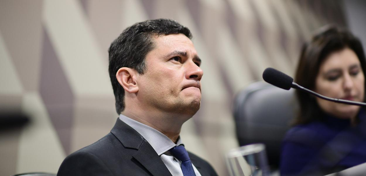 Na CCJ, ministro Sérgio Moro fala sobre revelações do The Intercept