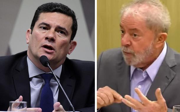 Sergio Moro e Lula