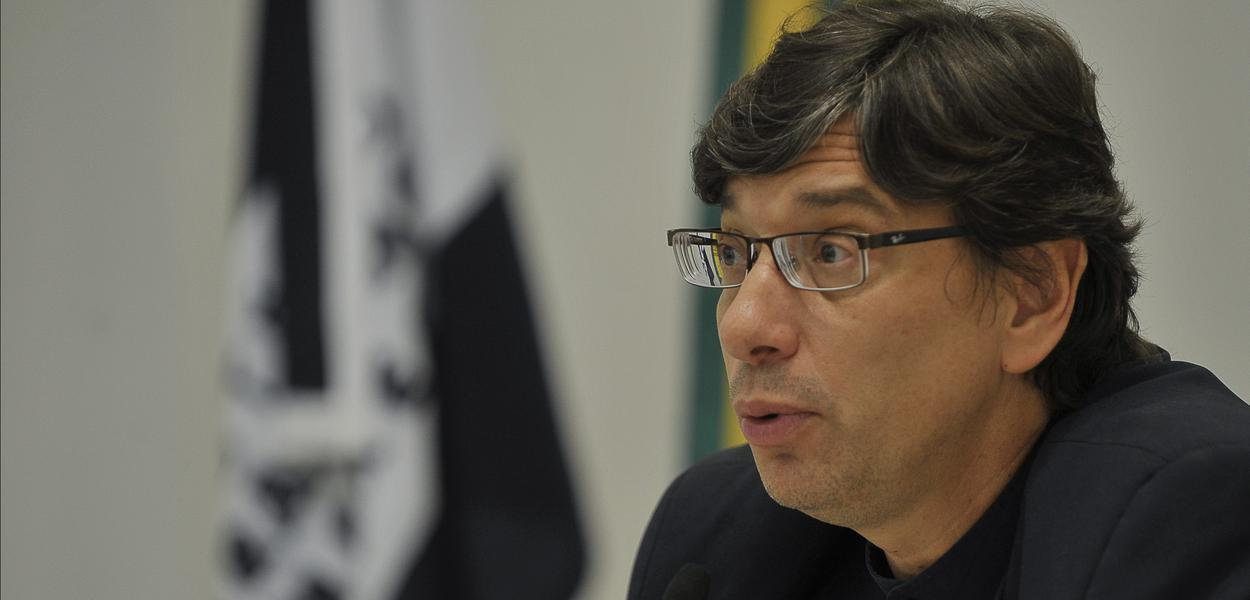 Brasília - O presidente do Instituto de Pesquisa Econômica Aplicada (Ipea), Márcio Pochmann, participa do seminário cujo tema é Economia Solidária, Superação da Miséria e Desenvolvimento, promovido pelo Ministério do Trabalho.