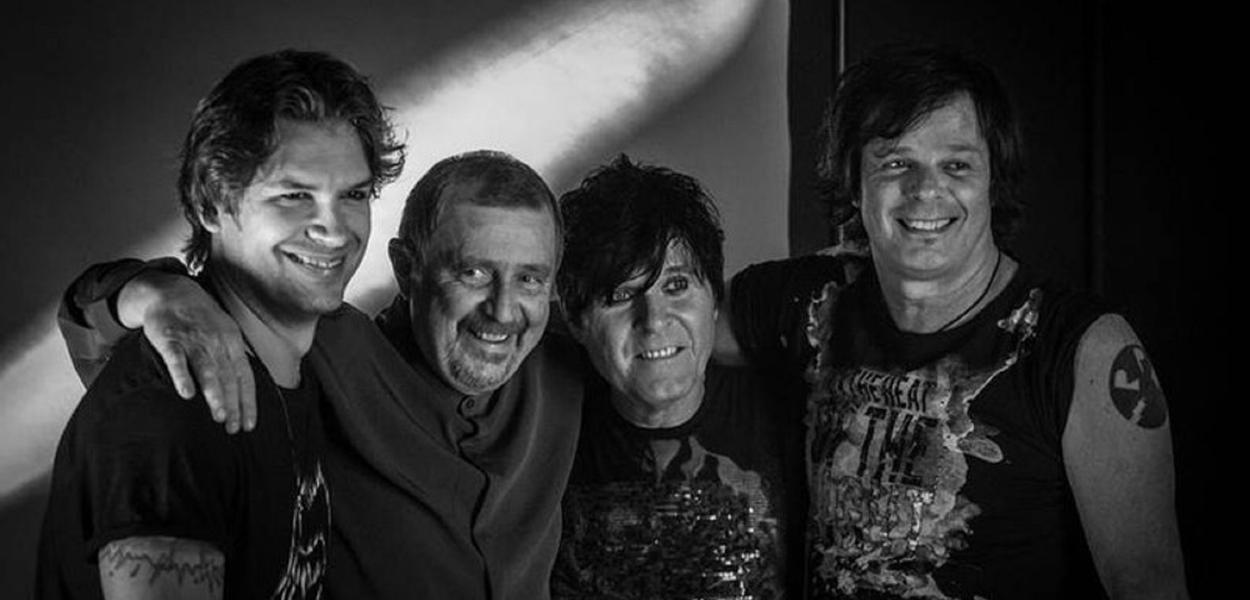 Dioy Pallone, Luiz Schiavon e Paulo P.A. Pagni e Fernando Deluqui, nova formação da RPM